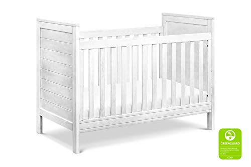 DaVinci Fairway 3-in-1 Convertible Crib in Cottage White | Greenguard Gold Certified