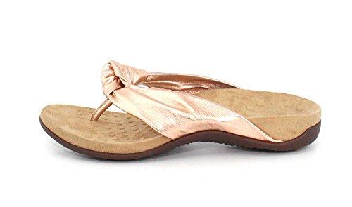 7 Pippa Toepost Womens Rest Rose Sandal Size Gold Vionic w1U4q8x