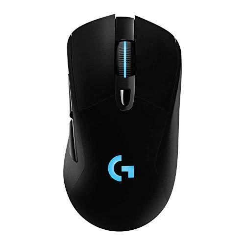 Logitech G703 Lightspeed Wireless Gaming Mouse W/Hero 16K Sensor, Lightsync RGB, PowerPlay...