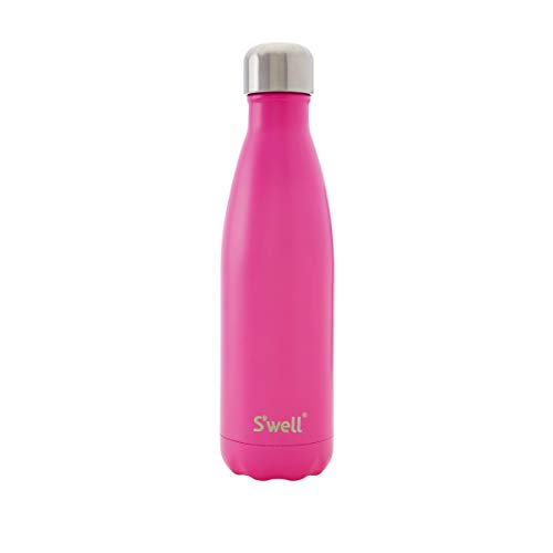 Swell Vacuum Insulated Stainless Steel Water Bottle, 25 oz, Bikini Pink, Solid Colors