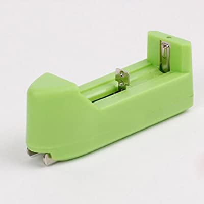 Intelligent 3.7v Recharge Battery Charger Green.