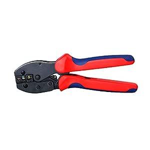 KKmoon Crimper Plier Square Herramienta de engarce autoajustable para cables Manguitos de extremo