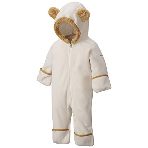 Columbia Kids Unisex Tiny Bear¿ II Bunting (Infant) Chalk/Lion 6-12 -
