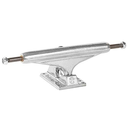電圧遷移トランスペアレントIndependent 169 166mm Mid Raw Skateboard Trucks - 9.25 Axle (Set of 2) by Independent