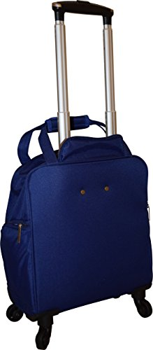 New York Chocolate Travel 18 Inch Carry-On Wheeled Luggage (Blue) by New York Chocolate Travel (Image #3)