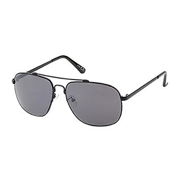 Sonnenbrille Herren Pilotenbrille 400 UV Aviator getönt lila grün Doppelsteg schwarz NiMTv