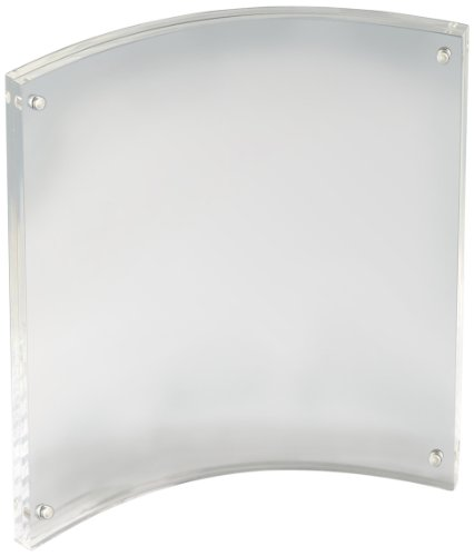 Displays2go PFCM8511PV Clear Acrylic Picture Frames for 8.5 x 11 ...