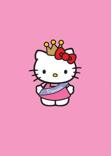 Hello Kitty , tarjeta de cumpleaños princesa , Rosa: Amazon ...