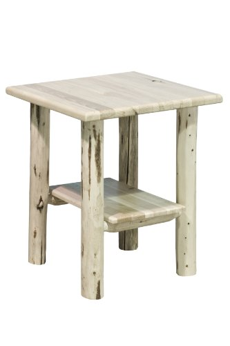 Montana Woodworks MWNS Montana Collection Nightstand/End Table, Ready to Finish