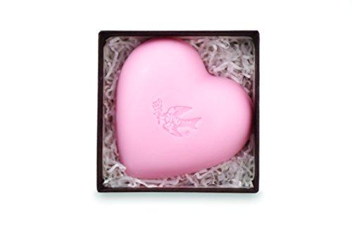 - Pre de Provence Hearts Collection Shea Butter Enriched Gift Soap, Tea Rose, 0.5 Pound