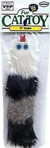 UPC 075726016239, Vo-Toys Furry Snake 9in 3 tone Cat Toy
