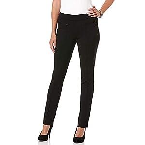 Rafaella Women's Slim Ponte Comfort Pant