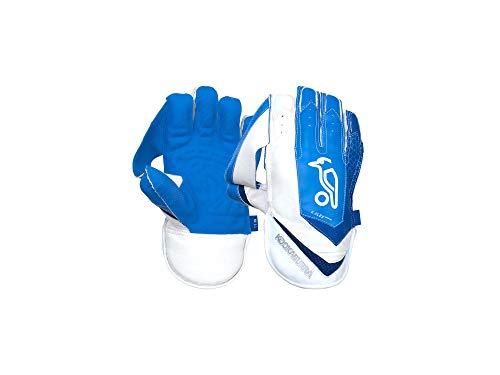 KOOKABURRA Unisex's 2020 SC 3.1 Wicket Keeping Gloves-Adult, White/Blue