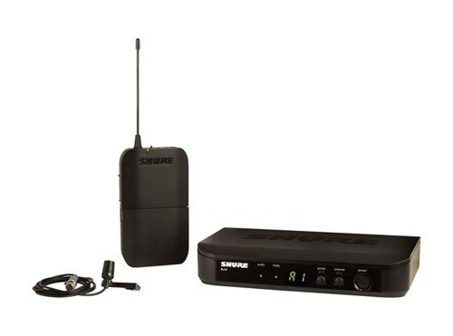 Shure BLX14/CVL Lavalier Wireless System with CVL Lavalier Microphone