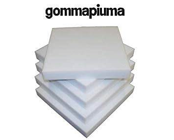 viglietti Esponja 6 Piezas Cuadrados de Espuma para sillas Poliuretano Espuma Alta Densidad Espuma Grosor