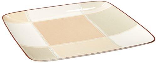 - Noritake Mocha Java Square Accent Plate