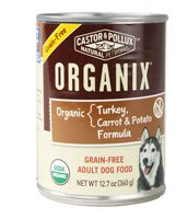Castor & Pollux Organix Adult Dog Food Grain Free Turkey Carrot & Potato Formula -- 12.7 oz