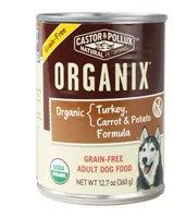 Castor & Pollux Organix Adult Dog Food Grain Free Turkey Carrot & Potato Formula -- 12.7 oz
