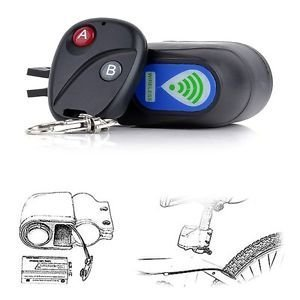 Lock Bicycle Motorbike Cycling Security Wireless Remote Control Vibration Alarm