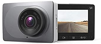 YI Smart Dash Cam, 2.7 Screen 1080P60 Full HD 165 Wide Angle Front Dashboard Camera Car DVR Vehicle Recorder with ADAS, G-Sensor, Phone APP, WDR, Loop Recording – Grey