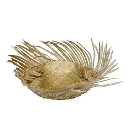 Beachcomber Straw Hat Party Accessory (1