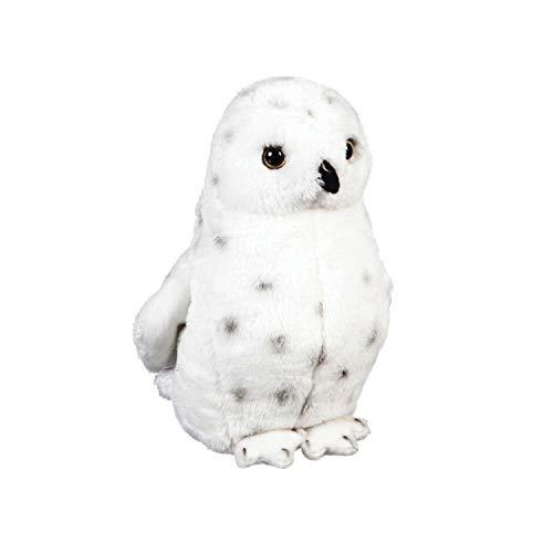 Safari Animal Bean Bags - B. Boutique 7PLSH466 Snowy Owl Bean Bag, Multi-Colored