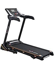Top Fit MT-321 fitness treadmill, 135 Kg - Black and Silver