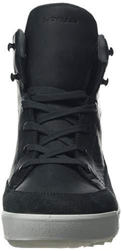 Bleu antracite Gtx Randonne De Chaussures 0937 Serfaus Hommes Pour Lowa Haute Taille zvxwq