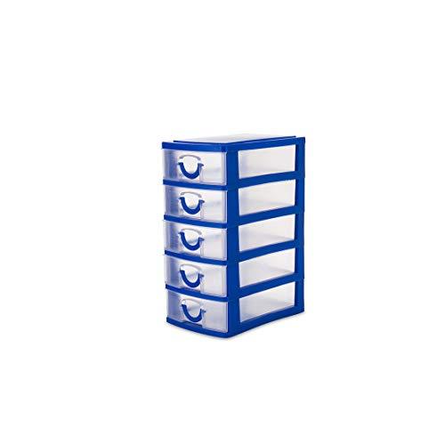 Practical Detachable DIY Desktop Jewelry Storage Box Plastic Storage Box Jewelry Organizer Holder Cabinets for Small Objects,2 - Box 400g
