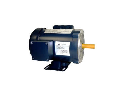 AC MOTOR, 1/2HP, 1725RPM, 1PH/60HZ, 115/208-230VAC, 56C/TEFC, CAP START, WITH FOOT, SF - Electric 60 Motor Hp