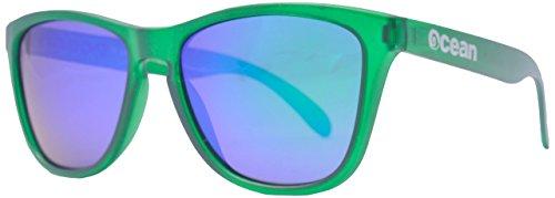 Amarillo Unisex Verde revo mate Sea de Gafas Verde Ocean Sol Sunglasses Verde única Color Talla w6xPX4w0q