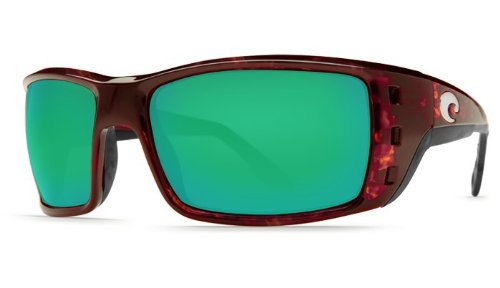 a473a6b5ef Image Unavailable. Image not available for. Color  New Costa Del Mar Permit  580G Tortoise Green Mirror Polarized Lens 59mm Sunglasses