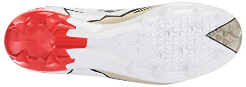 Pictures of Under Armour Men's Highlight MC - Limited Edition Football Shoe, Black (001)/White, 9 7