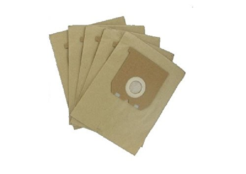 5 paper vacuum cleaner bags for Electrolux Lite 1000 Watts Super Europart