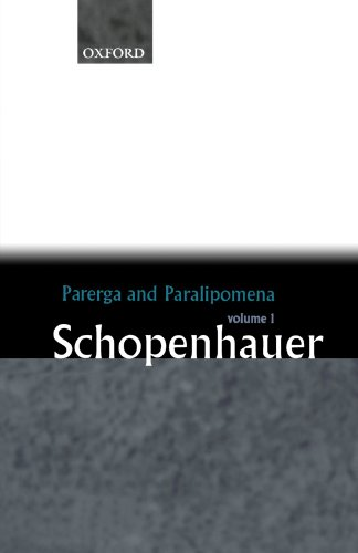 Image of Parerga and Paralipomena