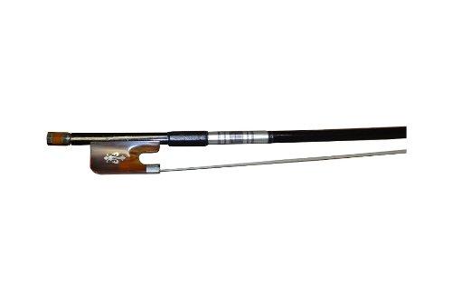 Vio Music #605 Cello Bow Ox-horn Carbon Fiber Fluer-de-lys Inlay-best Gift for Cellist