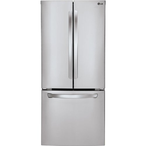 LG LFC22770ST French Door Refrigerator, 21.6 Cubic Feet, Stainless Steel (Ft Refrigerator Cu 22)