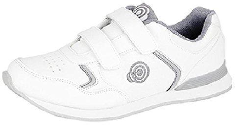 Sneakers bianche con chiusura velcro per donna Dek jGOyhG2CC4