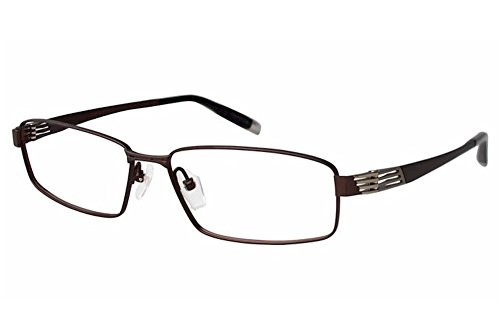 Charmant Z Eyeglasses ZT19821R ZT/19821R BR Brown Full Rim Optical Frame - Z Charmant