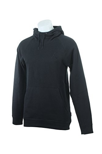 860200-010 MEN WINGS FLEECE PO JORDAN BLACK, 4XL by NIKE