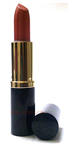 Estee Lauder Pure Color Long Lasting Lipstick Creme or Shimmer, .13 oz 3.8 g Full Size 83 Sugar Honey Shimmer Navy Tube