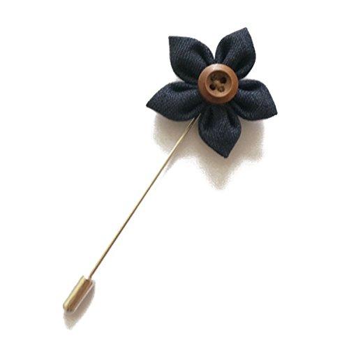 vintage flower pins - 8