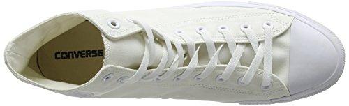 Converse Unisex-Erwachsene CTAS Seasonal-Hi-White Monochrome Hohe Sneaker Weiß (White Monochrome 137)