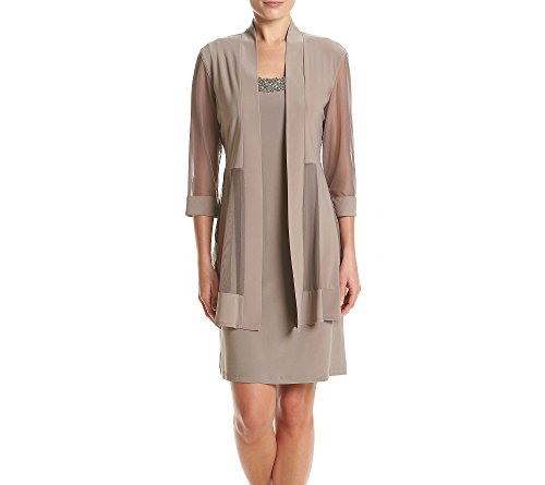 Sheer Matte Jersey Dress (R&M Richards Jacket and Matte Jersey Dress 14)
