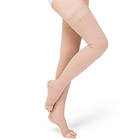 Medical Compression Varicose Knee Stockings Leg Pain Relief Sports Fitness Socks
