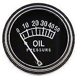 Universal Oil Pressure Gauge (0 - 50 PSI)