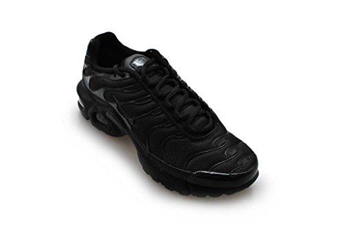Nike Air Max Plus TN (GS) Jugend Sneaker Schwarz Schwarz Schwarz 009