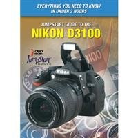 JumpStart Video Training Guide on DVD for the Nikon D3100 Digital Camera
