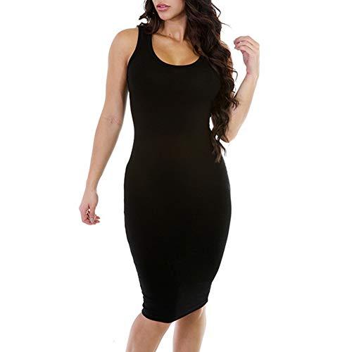 Filfeel Women Sexy Irregular Sloping Shoulder Sleeveless Formal -