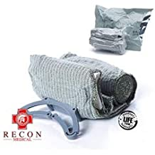 Trauma Bandage by RECON MEDICAL- Trauma Dressing, Israeli, First Aid, Medical Compression Bandage, Emergency Trauma Bandage, 4 Inches